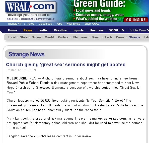 great-sex-wral-dot-com-story. HT: Gerrard Fess' blog, Deep Thoughts.