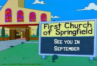 simpsons_church_sign_closed_for_summer