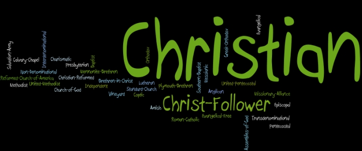 Denominational Wordle
