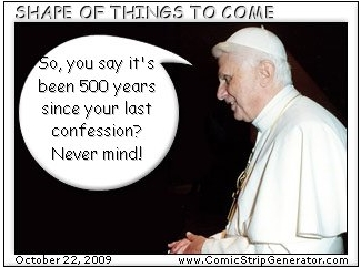 Pope - confession