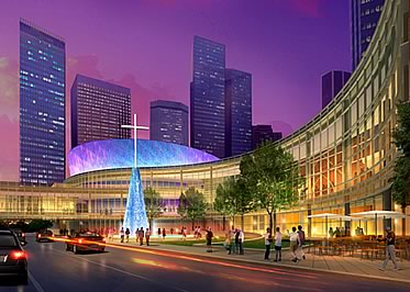 First Baptist Church Dallas Architectural Rendering