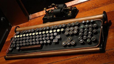 Keyboard from steampunkworship dot com