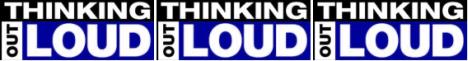 Thinking Out Loud Banner for Christian Blog Topsites