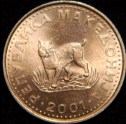 Wednesday List Lynx - The lynx is considered a national animal in Macedonia where it is featured on the five denar coin