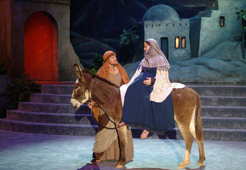 Christmas pageant authenticity