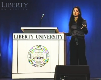 Naomi Zacharias Liberty Convocation