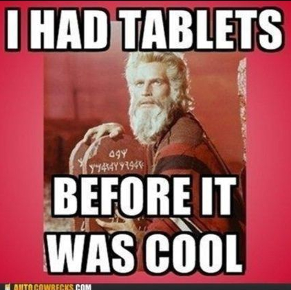 Moses Tablets