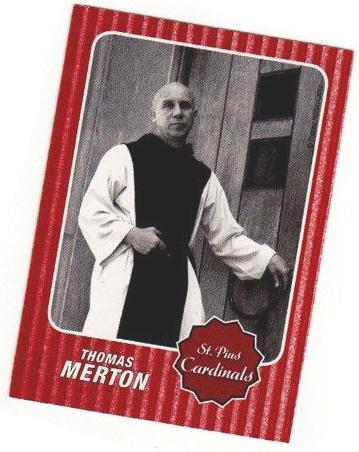 Theologian Trading Cards - Thomas Merton