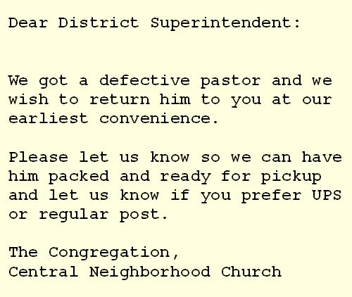 Defective Pastor