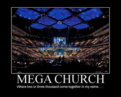 Megachurch motivational
