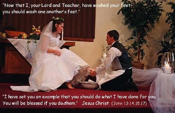 Wedding Foot Washing