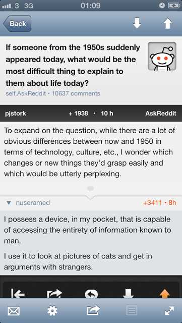 Explaining Present Technology
