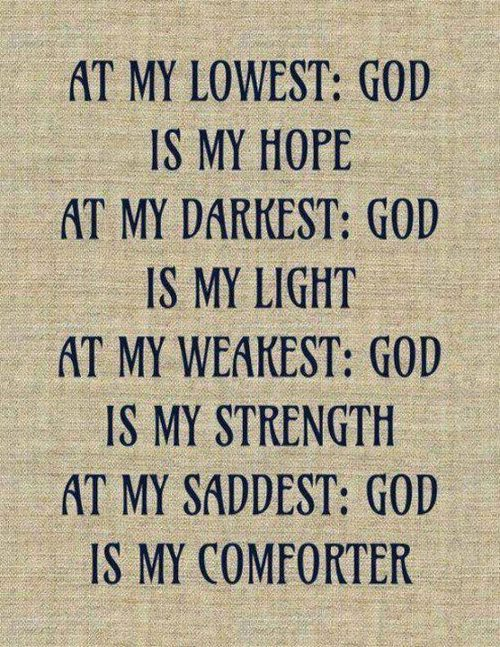 At My God Is