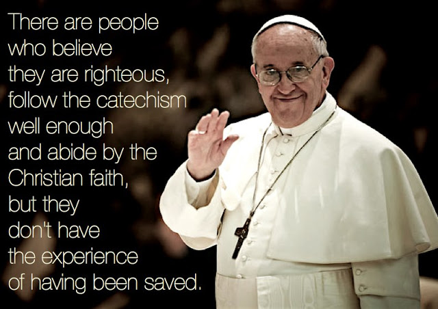 Saved - Pope Francis