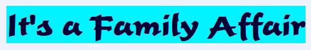 Family Affair sermon series