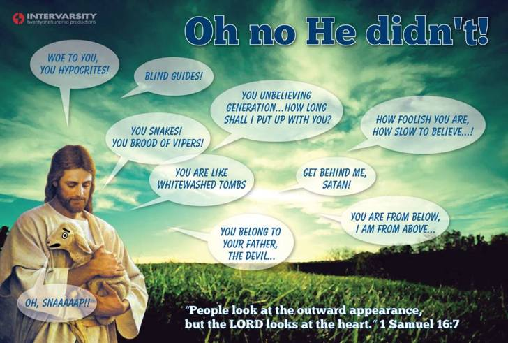 Oh Yes He Did - Intervarsity Infographic