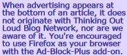 Recommend Ad Block Plus