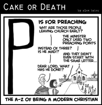 Preaching - Cake or Death