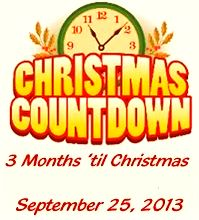 3 months to Christmas