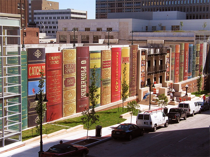 Main branch of the Kansas City Public Library.