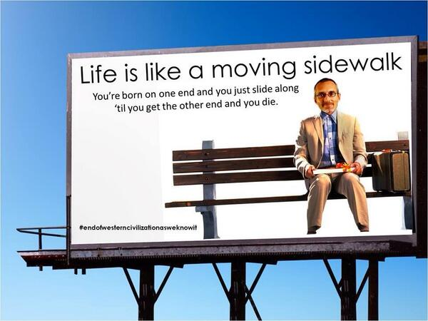 Life is Like a Moving Sidewalk