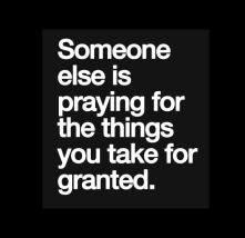 Someone else is praying