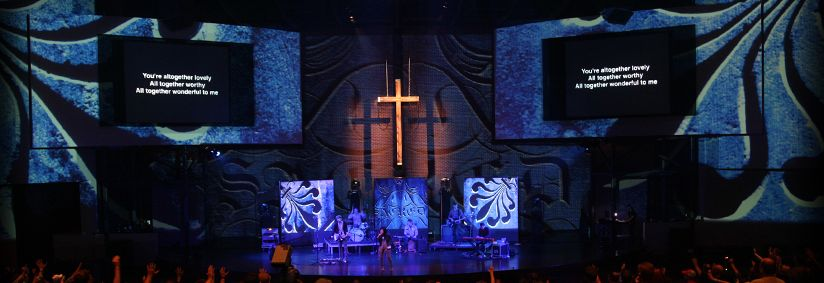 Environmental Projection from VisualWorshiper dot com