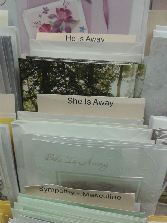 He is Away - She is Away