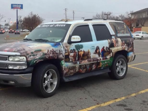 Story of Jesus SUV