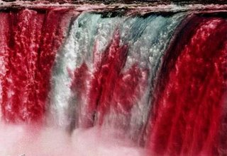 The Canadian falls at Niagara are probably frozen as you read this