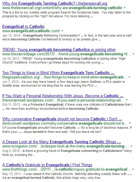 Why Are Evangelicals Turning Catholic