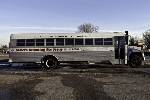 Sisters Jamming Bus