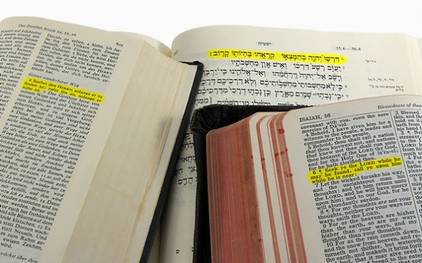Bible translation issues