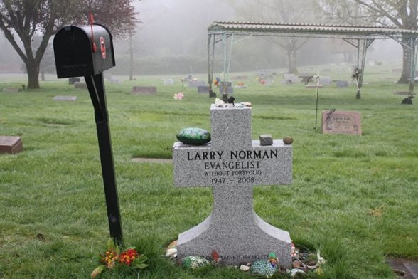 Larry Norman Gravestone