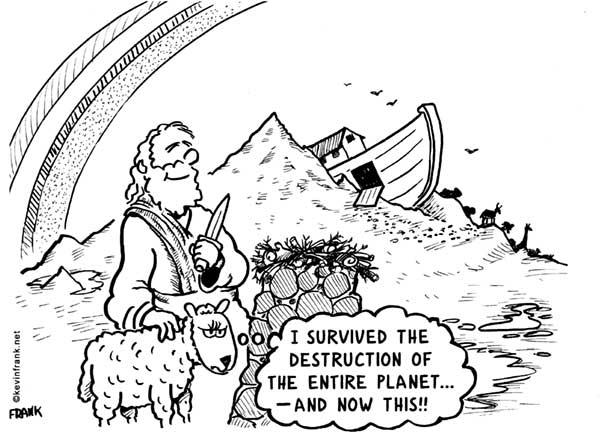 Noah's Sacrifice by Kevin Frank