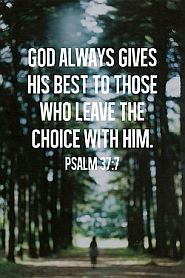 God Always Gives The Best