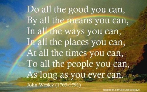 John Wesley quotation