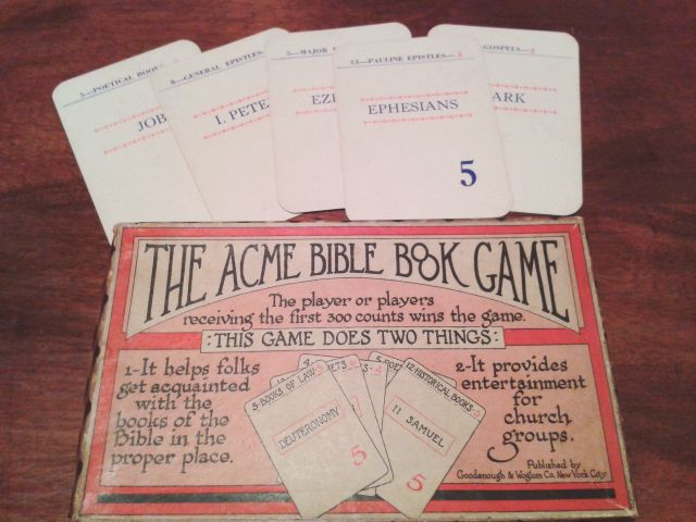 Acme Bible Book Game