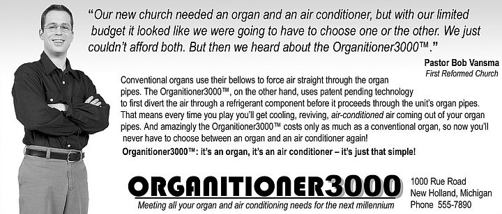 Church Organ - Air Conditioner Combo