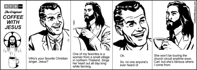 Coffee With Jesus - Singer