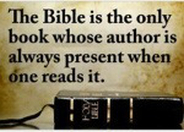 Bible - Author Always Present