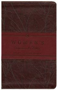 ESV Women's Devotional Bible in an imitation leather format.