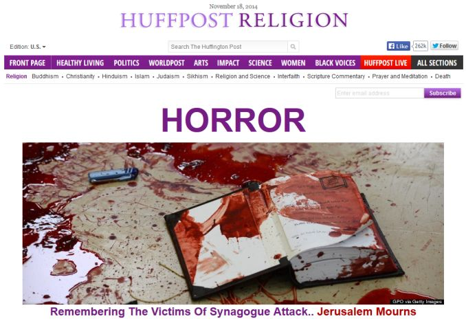 Huffington Religion Nov 18 2014