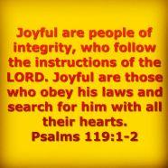 Psalm 119 widget