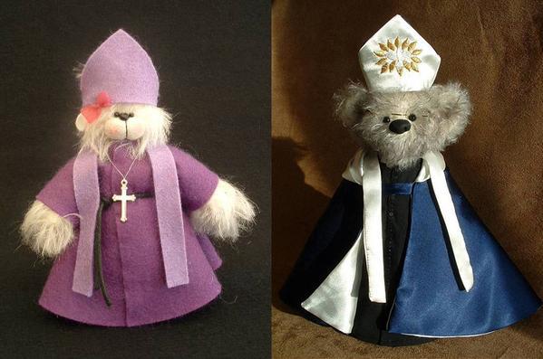 Rowan and Rowena - The Bishop Bears