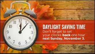 Standard Time November 2013