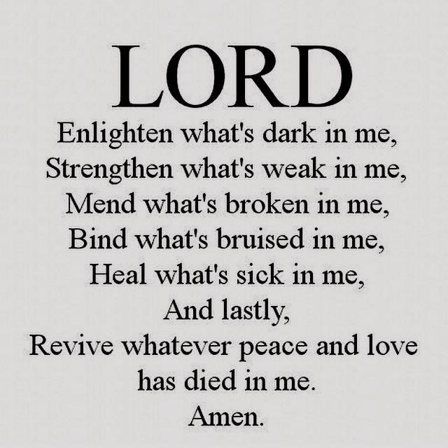 Enlighten Strengthen Mend Bind Heal