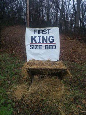 First King Sized Bed