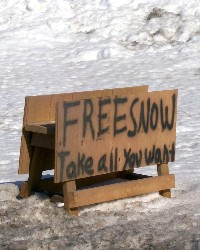 free_snow_sign