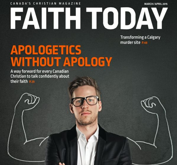 The cover of Canada's national Evangelical magazine. Click the image to see more.